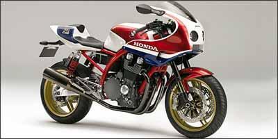 CB 1100R tem decoração inspirada nas competições - Fotos: Honda/Divulgação