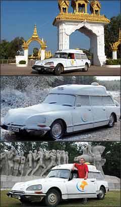 Modelo francês produzido em 1970 foi visto em diferentes partes do mundo e suportou bem as mudanças de clima: Manuel esteve também no Brasil - Fotos: Citroën/Divulgação