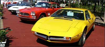 Spazio Italia- Entre os esportivos italianos, destaque para as Alfas -