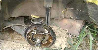 Relatos de motoristas sugerem fadiga de material no conjunto do eixo do carro - Amilton do Nascimento/Arquivo Pessoal