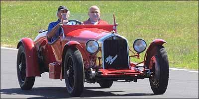 Modelo foi mito na história do automobilismo de competição, vencendo importantes provas na década de 1930 - Fotos: Giovani Pidello/Fiat/Divulgação - 9/7/08