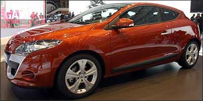 A Renault deposita esperanças de reaquecer vendas com novo Mégane - Joel Saget/AFP/Divulgação - 3/10/08