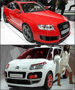 Audi RS6 e Citroën C3 Picasso -