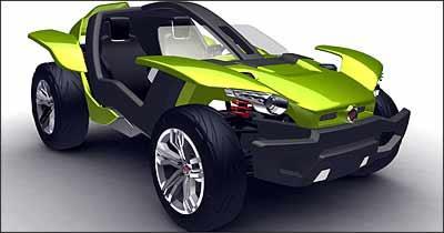 Fiat Bugster - Fiat/Divulgação