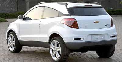 GpiX deve servir de plataforma para futuros modelos compactos produzidos pela GM - Chevrolet/Divulgação