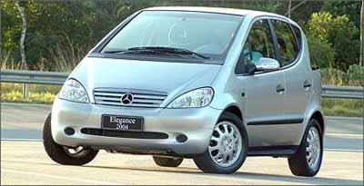 Com airbag, ESP e ABS, Mercedes Classe A pode ser encontrado a partir de R$ 23 mil - Mercedes-Benz/Divulgação