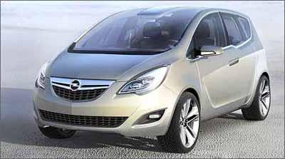 Meriva Concept - Opel/Divulgação