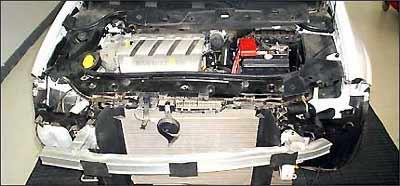 Uma batida sem danos aparentes pode afetar o crash-box, que precisa ser trocado  - Cesvi/Divulgação