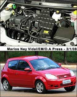 Em 1999, motor Zetec RoCam substituiu o ultrapassado Endura. Modelo recebeu novas linhas no fim de 2007, 10 anos após lançamento (Roberto Rocha - 7/2/03)