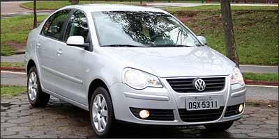 Sensor de estacionamento n�o equipa de s�rie o Polo, que � vendido com o acess�rio por mais R$ 660 - Marlos Ney Vidal/EM/D.A Press - 7/11/06