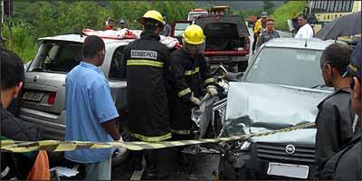 Reembolso a vítimas de acidente é reduzido, enquanto proprietário de veículo paga mais caro - Wellington Fred/Diário do Aço - 5/1/09