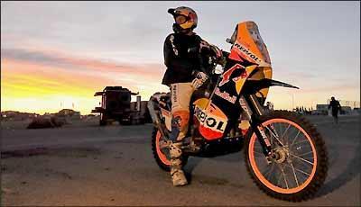 O deserto e suas dunas também estiveram presentes na edição sul-americana do Dakar - Fotos: KTM/Divulgação