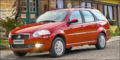 Fiat Palio Weekend ELX 1.4 é a mais segura da turma - Studio Cherry/Fiat/Divulgação - 9/5/08