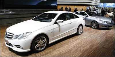 Mercedes-Benz Classe e Coupê - Denis Balibouse/Reuters