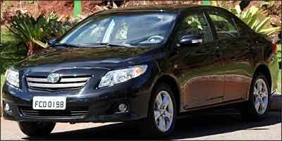 De valor intermedi�rio, o Corolla � o segundo menos equipado do segmento - Marlos Ney Vidal/EM/D. A Press - 10/6/08