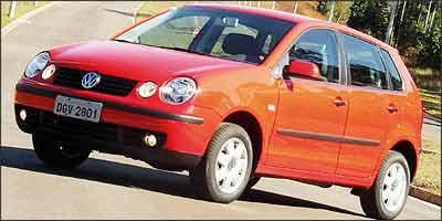 Os faróis redondos duplos foram a marca registrada do modelo de 2003 a 2006 - Eduardo Rocha/RR - 11/7/02