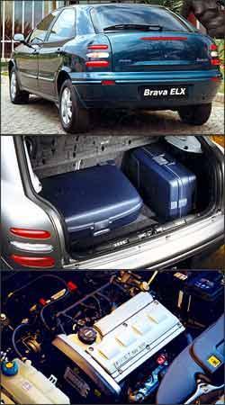 A visibilidade traseira é um dos pontos negativos do hatchback. Porta-malas tem boa capacidade de carga. Motor 1.8 16V apresenta problemas na central eletrônica -