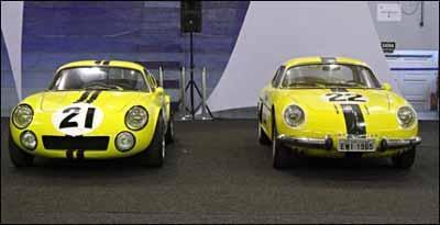 Bino Mark I (E), com motor Renault, foi o sucessor da Berlinetta 22 - FEI/Divulgação