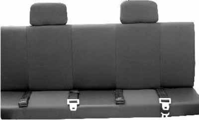 Banco usado em adaptações na picape Fiat Strada cabine estendida - Arquivo/EM/D.A Press