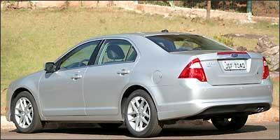 Ford Fusion tem traseira mais alta e lanternas triangulares -   Marlos Ney Vidal/EM/D.A Press