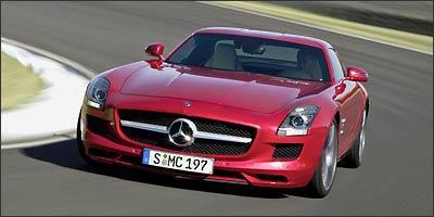 Mercedes SLS AMG será a principal estrela da marca alemã - Mercedes-Benz/Divulgação