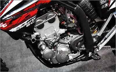 Motor 250 de quatro tempos é fornecido pela Yamaha -