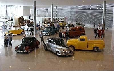 A Bienal 2010 também contará com um espaço para exibição de modelos antigos -