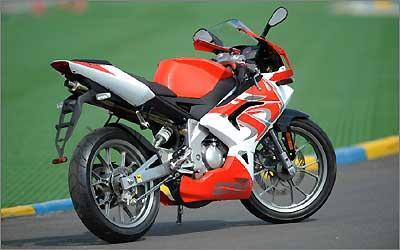 O estilo da RS50 segue o da