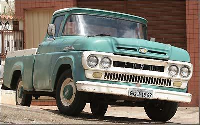 Modelo 1967 ainda está na ativa, confirmando a vocação para o trabalho do Rancheiro -