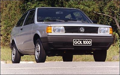 Ainda na primeira gera��o, o Gol 1000 fez sucesso pelo baixo custo e popularizou o carro 0km no Brasil -