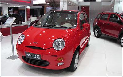Chery QQ quer o título de carro mais barato do Brasil a partir de março - Julio Cabral/EM/D.A PRESS