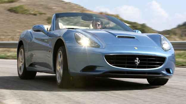 Ferrari California - Ingresso para o haras
