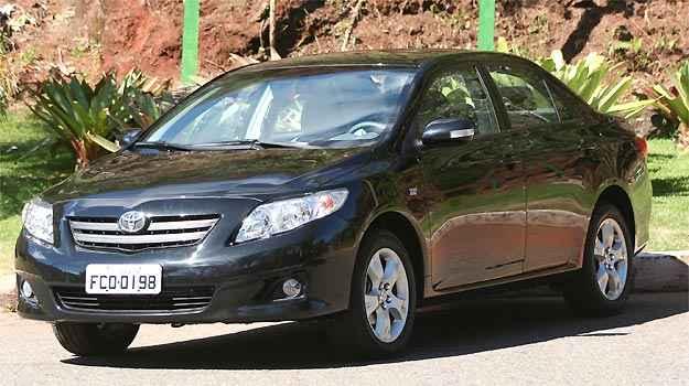 Iniciado dia 1º, novo recall do Toyota Corolla corrige problema no sistema de partida a frio, mas ainda não consta no Renavam (Marlos Ney Vidal/EM/D.A PRESS)