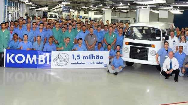 Kombi atinge marca de 1,5 milh�o de unidades produzidas