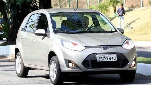 A Ford incluiu itens de seguran�a no Fiesta a pre�o atraente e vers�o 1.0 custa R$ 35.900 e a 1.6, R$ 37.710 (Marlos Ney Vidal/EM/D.A PRESS)
