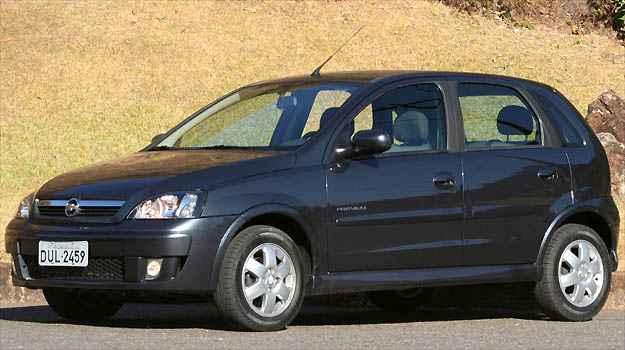 Vers�o Maxx do Chevroelt Corsa 1.4 j� tem airbag duplo (Marlos Ney Vidal/EM/D.A PRESS)