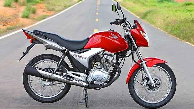 Honda CG 150 Titan - Segunda mais roubada no país - Caio Mattos/Honda/Divulgação