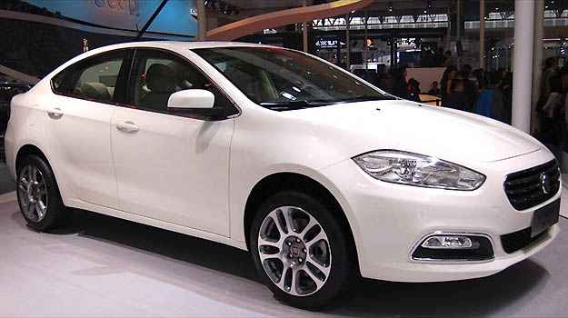 Fiat apresenta Viaggio ao p�blico pela primeira vez