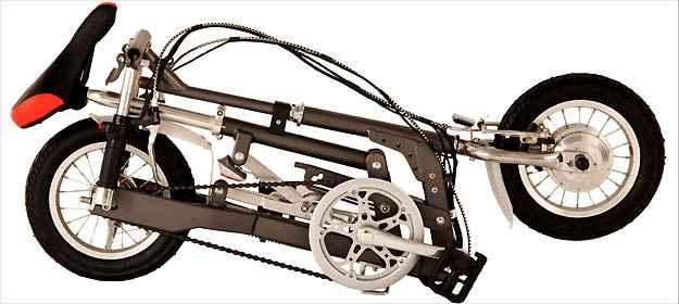 A versão Nano pode ser dobrada manualmente para ser guardada ou transportada
