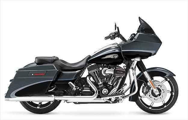 Batizada de Rei da Estrada. a Road King tem até para-brisas -  Harley-Davidson 2011/Divulgacao