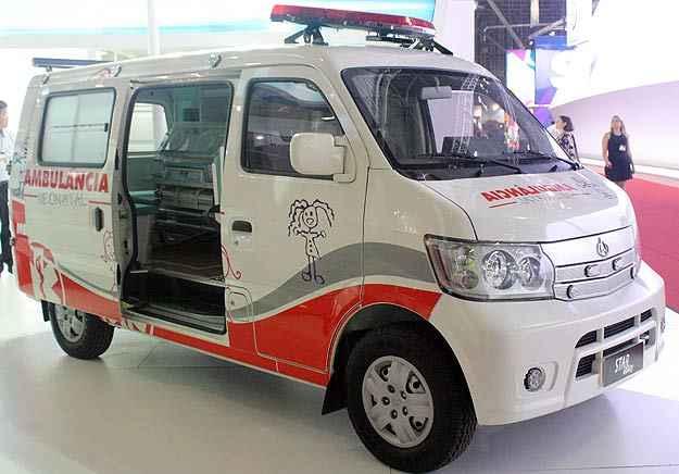 Changan Star Utility Ambulância  - Marcello Oliveira/EM/D.A Press