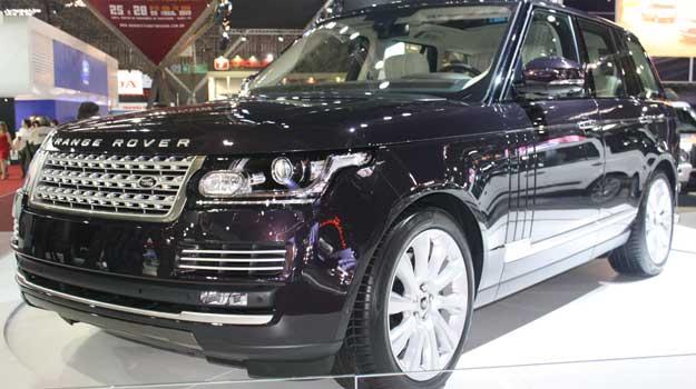 Novo Range Rover Vogue agora pesa 39% menos que a antiga geração  - Marcello Oliveira/EM/D.A PRESS