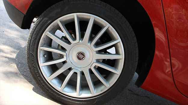 Rodas do Fiat Bravo Absolute -
