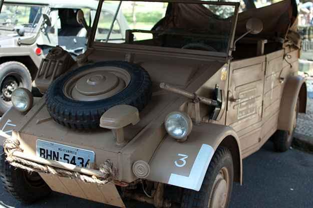Réplica Volkswagen Kübelwagen (Thiago Ventura/Portal Uai/D.A Press)