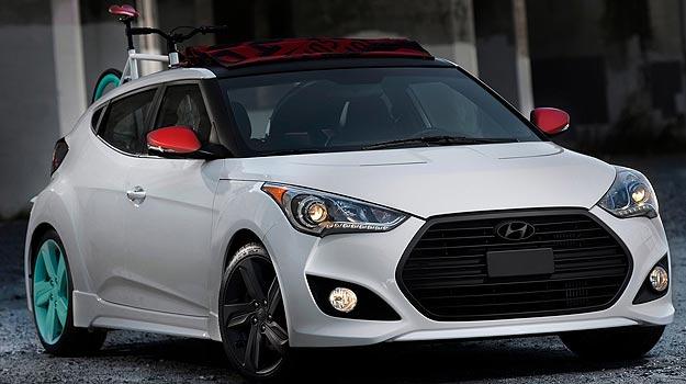 Hyundai cria vers�o cabriolet do Veloster