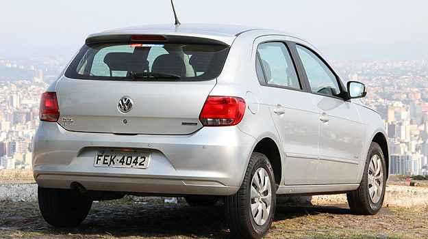 Estilo mais conservador do Volkswagen Gol denuncia idade do projeto (Marlos Ney Vidal/EM/D.A Press)