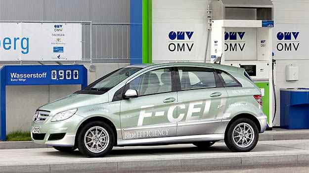 Tecnologia F-Cell s ser implementada pela Mercedes em 2014, mas o estudo americano j testou seus benefcios (Mercedes-Benz/Divulgao)