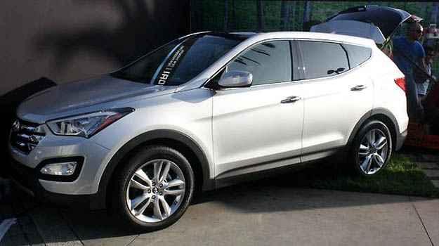 Concession�rias Hyundai j� vendem o novo Santa Fe