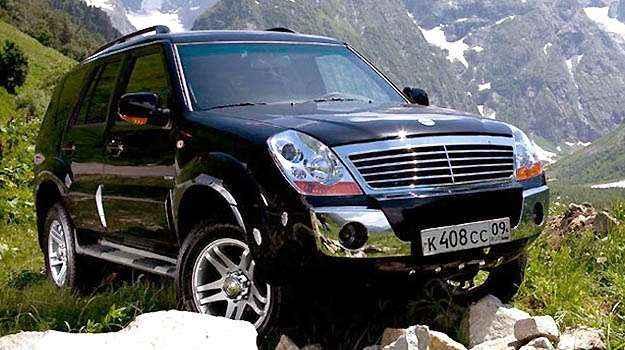 SUV da marca árabe (Amsia/Divulgação)