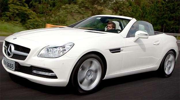 Mercedes-Benz j� est� trazendo para o Brasil o SLK 250 (Mercedes-Benz/Divulga��o)